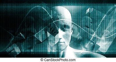 teknologi, fremtidsprægede