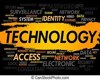 teknologi, glose, sky