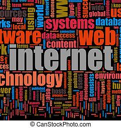 teknologi, internet