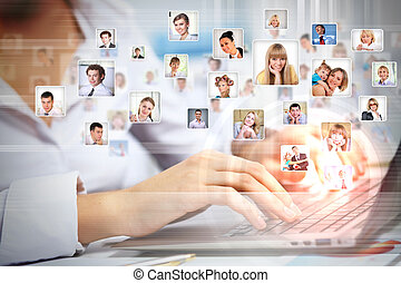 teknologien, affärsverksamhet idag