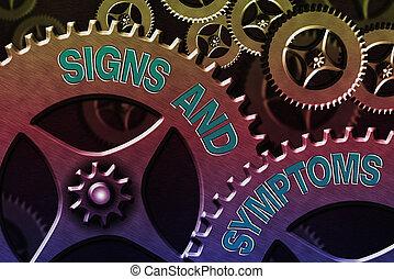 tekst, abnormalities, concept., controle, instellingen, tekens & borden, symptoms., configuratie, aanwijzen, medische voorwaarde, gereedschap, betekenis, tandwiel, systeem, concept, handschrift, waarschijnlijk, beheerder