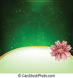 tekst, bloem, achtergrond, ruimte