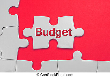 tekst, concept, -, begroting, zakelijk