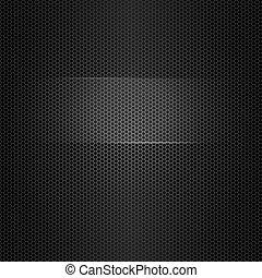 tekst, frame, metaal, seamless, textuur, aangepunt, vector
