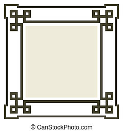 tekst, frame, vector, jouw, ruimte