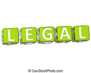 tekst, kubus, wettelijk