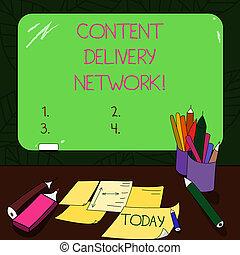 tekst, meldingsbord, het tonen, inhoud, aflevering,...