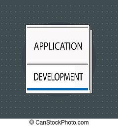 tekst, meldingsbord, het tonen, kunstmatig, intelligence., conceptueel, foto, machine, kopie, cognitief, functie, zoals, probleem oplossen