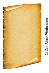 tekst, papier, antiek oude, achtergrond, boekrol, texture., witte