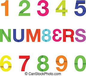 tekst, papier, liczba