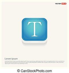 tekst, pictogram