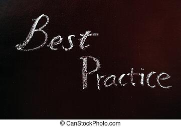 """tekst, practice"""", """"best"""