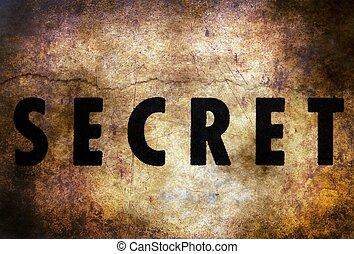 tekst, tajemnica, grunge, tło