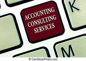 tekst, tegn, viser, bogholderi, rådgivende, services., begrebsmæssig, fotografi, forberedelse, ofperiodic, finansielle, statements