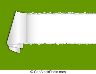 tekst, torn-paper, ruimte