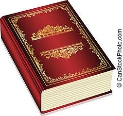 tekst, vector, -, boek, ruimte