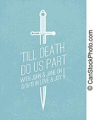 tekst, vector, zwaard, achtergrond