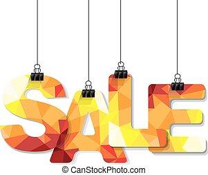 tekst, verkoop, kleurrijke
