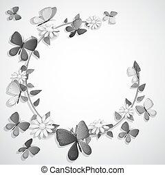 tekst, vlinder, black , plek, witte , kaart