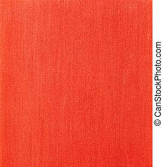 tekstilet, rød baggrund