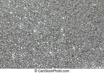 tekstur, glitre, sølv, baggrund