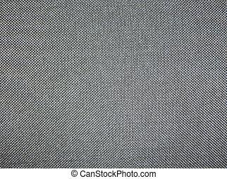 tekstur, gråne, baggrund, fabric