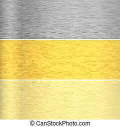 teksturer, metal, baggrund
