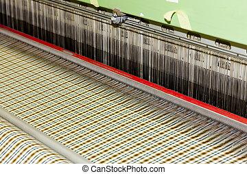 tekstylny, maszyna