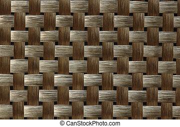 tekstylny, węgiel, włókno, splot