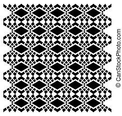 tekstylny zamiar, wektor, sztuka, etniczny