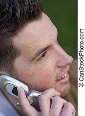 teléfono, adolescente