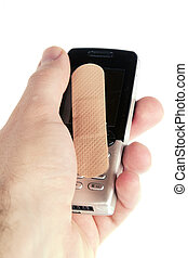 teléfono celular, daño