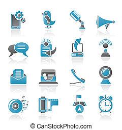 teléfono, comunicación, móvil