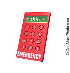 teléfono de emergencia