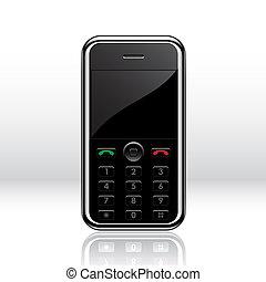teléfono móvil, vector
