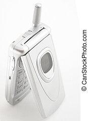teléfono, plata, celular