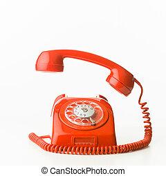 teléfono, resonante