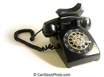 teléfono, rotatorio