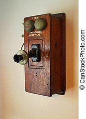 teléfono, tiempo viejo
