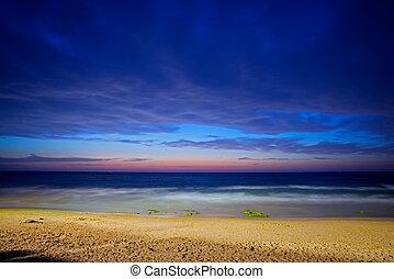 tel , ηλιοβασίλεμα , aviv , όμορφος