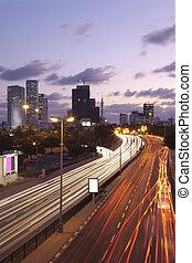 Tel Aviv at sunset - City Life