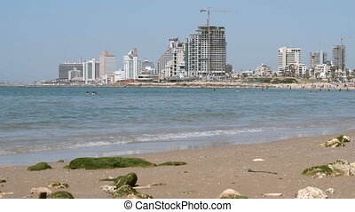 Tel-Aviv beach. Jaffa. Israel.