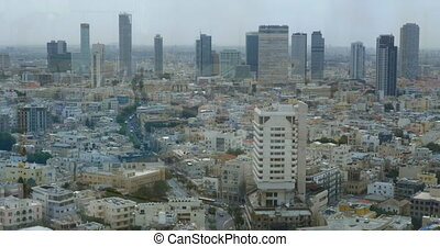 Tel Aviv city view in daytime, Israel