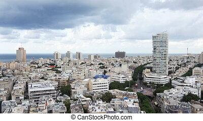 Tel - Aviv cityscape, Israel - Tel - Aviv cityscape, capital...