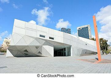 Tel Aviv Museum of Art in Tel Aviv - Israel - TEL AVIV, ISR...