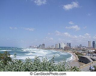 Tel Aviv seascape, Israel