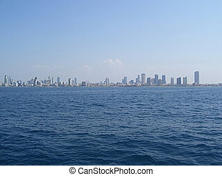 Tel Aviv seascape view, Israel