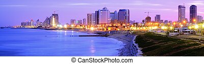 Tel Aviv Skyline - Panorama of Tel Aviv, Israel