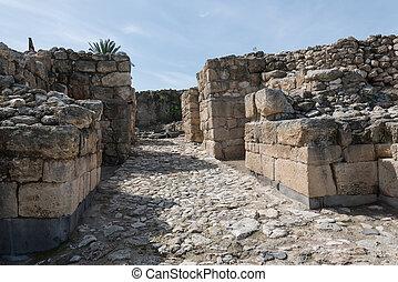 Tel Megiddo gate