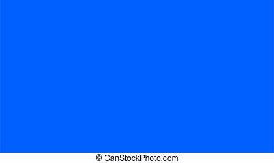 tela, azul, experiência., tecla, cheio, vetorial, hd, blanc, chroma, size.